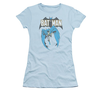 Batman Comic 241 Blue Juniors Tee Shirt