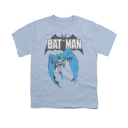Batman Comic Cover Blue Youth Unisex T-Shirt
