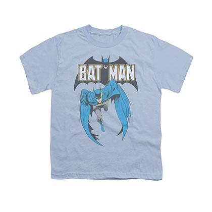 Batman Comic Cover Blue Youth Unisex T-Shirt