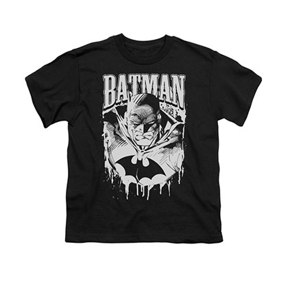 Batman Bat Metal Youth Unisex T-Shirt