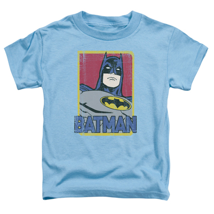 Batman Carolina Blue Toddlers Tshirt