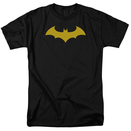 Batman Hush Logo Black and Yellow Tshirt