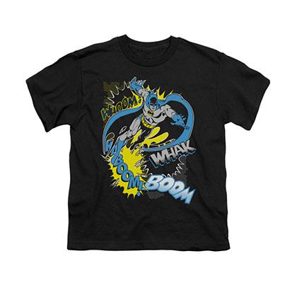 Batman Bat Effects Black Youth Unisex T-Shirt