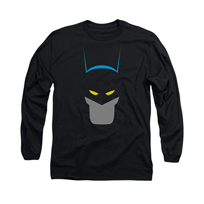 Batman Simplified Black Long Sleeve T-Shirt