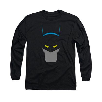 Batman Simplified Black Long Sleeve T-Shirt