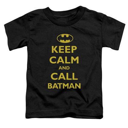 Batman Keep Calm Toddlers Tshirt