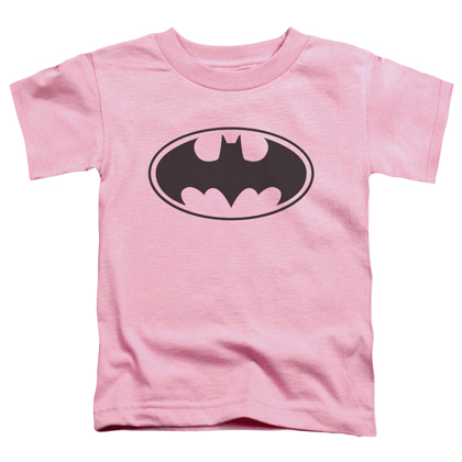 Batman Logo Pink Toddlers Tshirt
