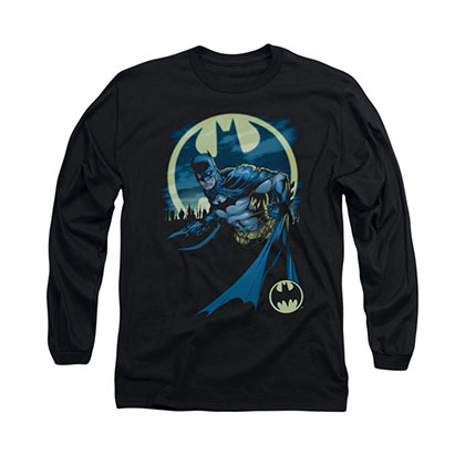 Batman Heed The Call Black Long Sleeve T-Shirt