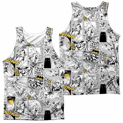 Batman Comic All Over Sublimation Tank Top