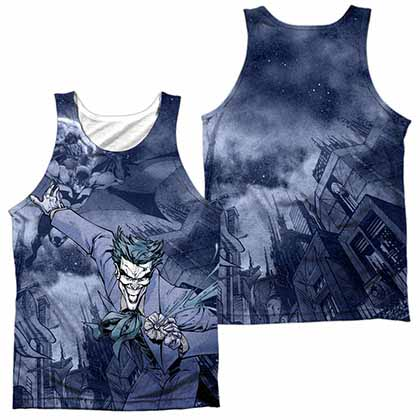 Batman Catch The Joker Sublimation Tank Top