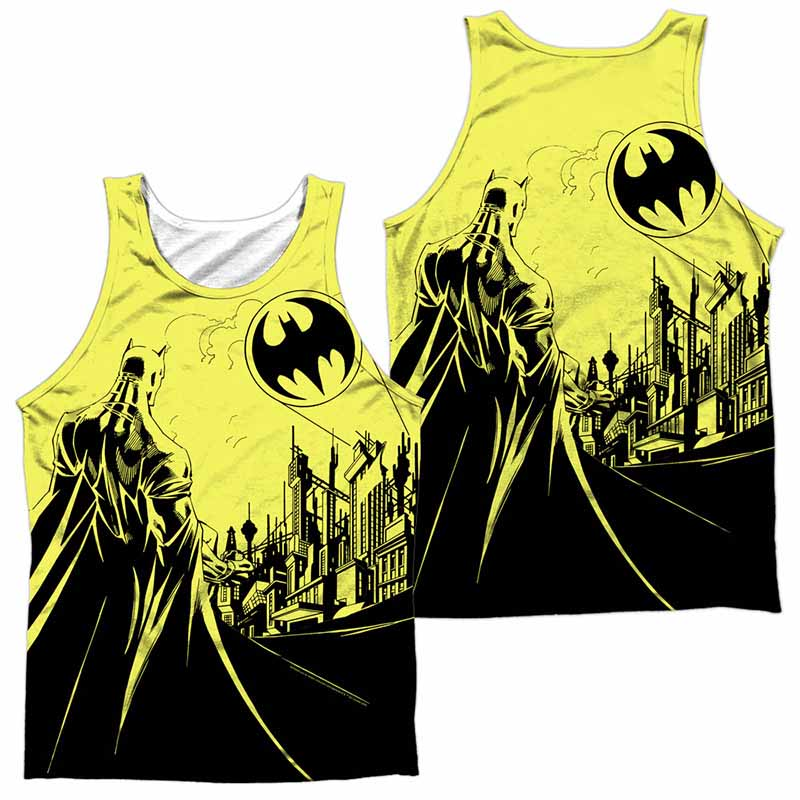 Batman Bat Signal Sublimation Tank Top