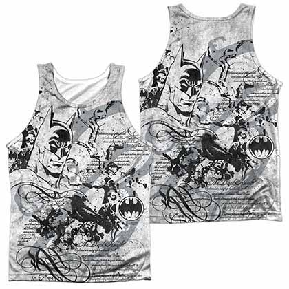 Batman Tale Of The Dark Knigth Sublimation Tank Top