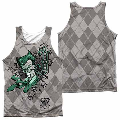 Batman Jokergyle Sublimation Tank Top