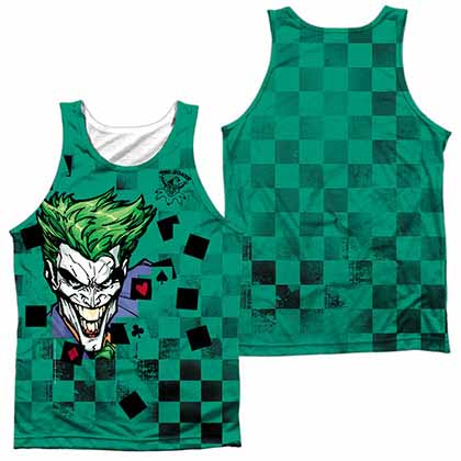 Batman Boxed Clown Sublimation Tank Top