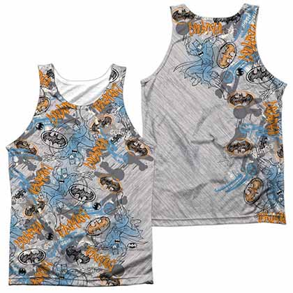 Batman Gotham Knight Sketchy Sublimation Tank Top