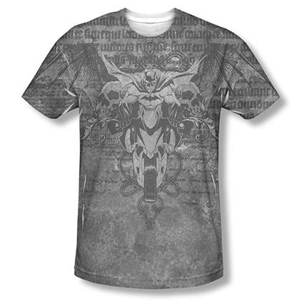 Batman Ride Free Sublimation Black Tee Shirt