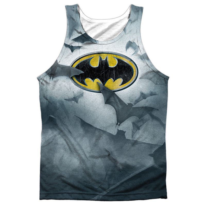 Batman Bat Logo Sublimation Tank Top