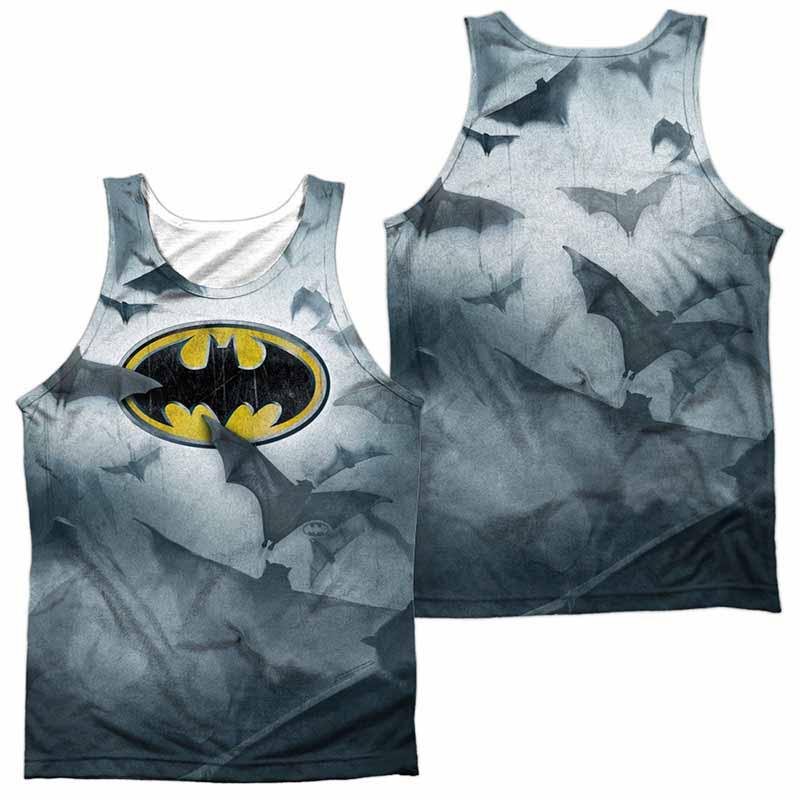 Batman Bat's Logo Sublimation Tank Top