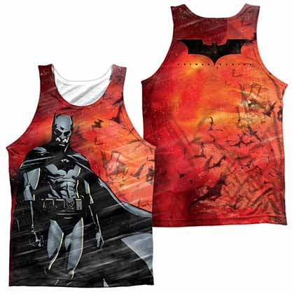 Batman Begins Frenzy Sublimation Tank Top