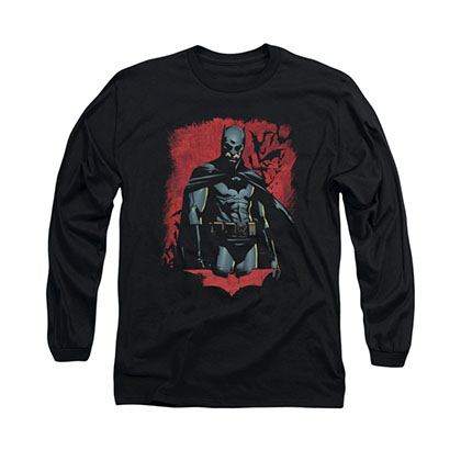 Batman Begins Dead Town Black Long Sleeve T-Shirt
