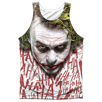 Batman Dark Knight Joker Sublimation Tank Top