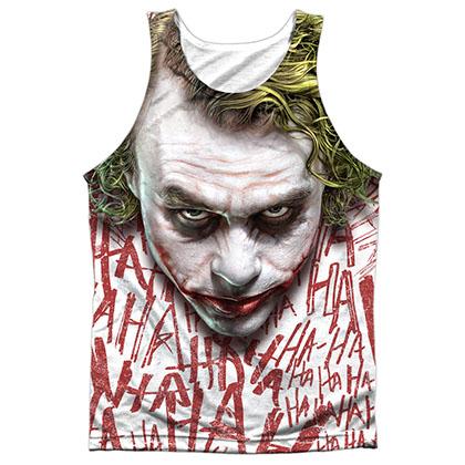 Batman Dark Knight Joker Sublimation Tank Top