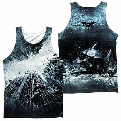 Batman Dark Knight Rises Big Poster Sublimation Tank Top