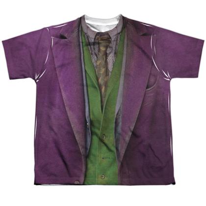 The Joker Dark Knight Youth Costume Tee