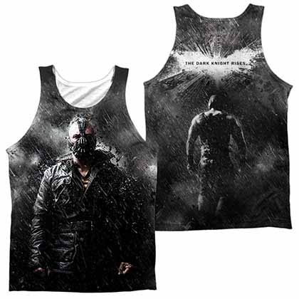 Batman Dark Knight Rises Bane In Rain Sublimation Tank Top