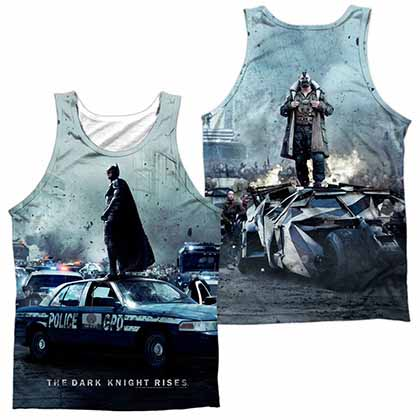 Batman Dark Knight Rises Standoff Sublimation Tank Top