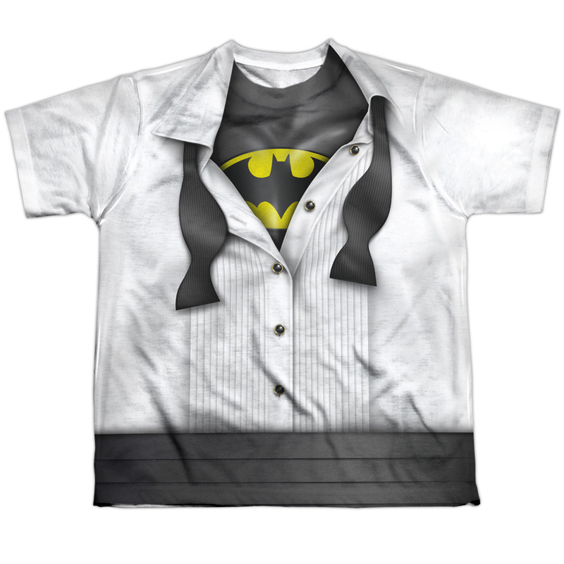 Batman Tuxedo Costume Youth Tshirt