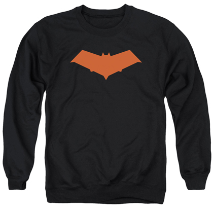 Back Red Hood Logo Crewneck Sweatshirt