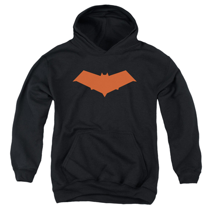 Batman Red Hood Logo Youth Hoodie