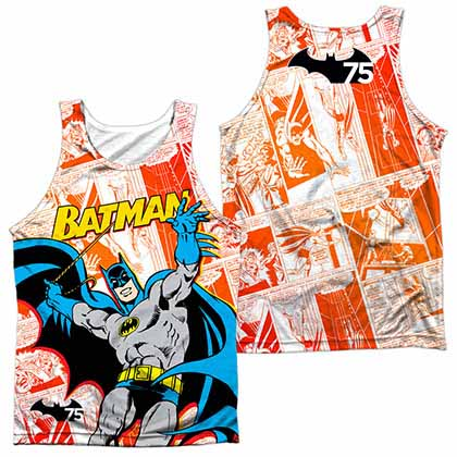 Batman 75 Panels Sublimation Tank Top