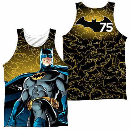 Batman 75 Glow Sublimation Tank Top