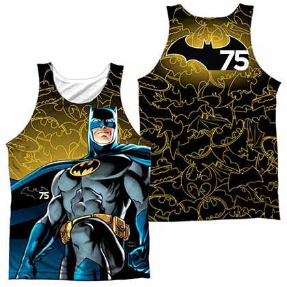 Batman 75 Glow Sublimation Tank Top