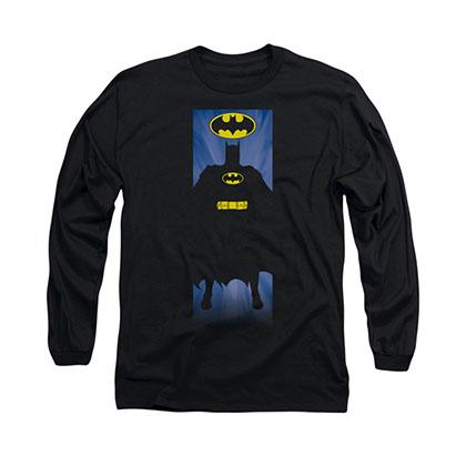 Batman Block Black Long Sleeve T-Shirt
