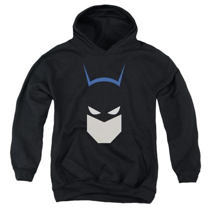 Batman Cartoon Head Youth Hoodie