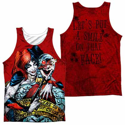 Batman Crime Scene Sublimation Tank Top