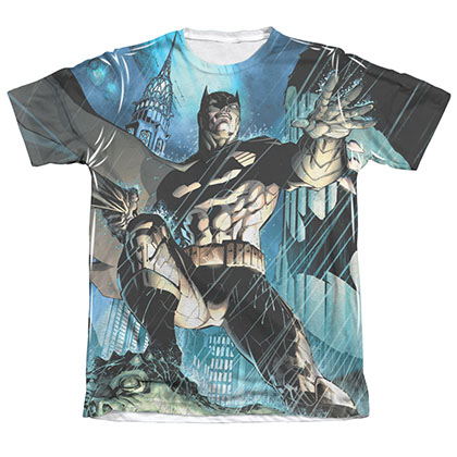 Batman Men's Sublimation Dark Knight Tee Shirt