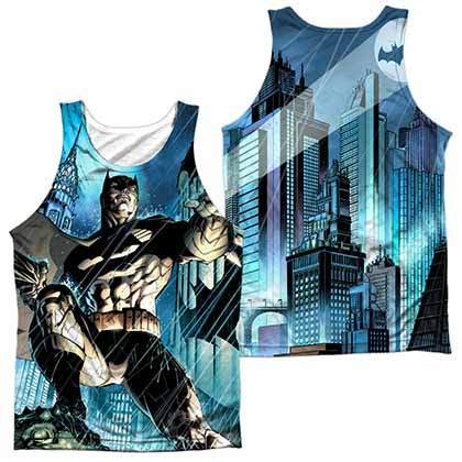 Batman Rainy Rooftop Sublimation Tank Top