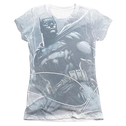 Batman Protector Sublimation Juniors Tee Shirt