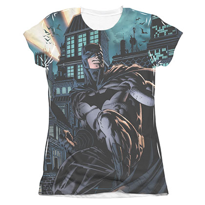 Batman Coming For You Sublimation Juniors Tee Shirt