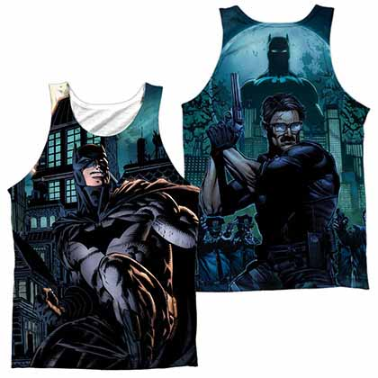 Batman Coming For You Sublimation Tank Top