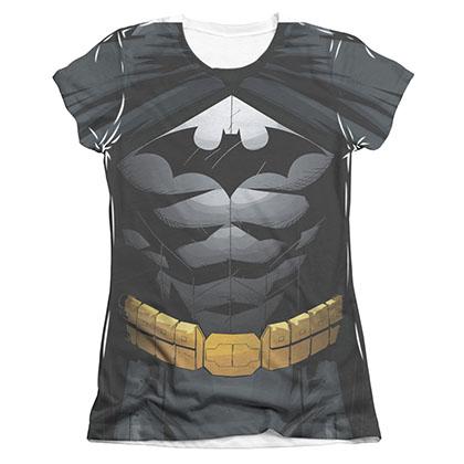 Batman Sublimation Juniors Costume T-Shirt