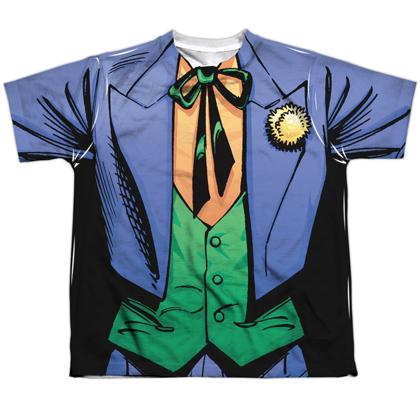 The Joker Uniform Youth Costume Tee