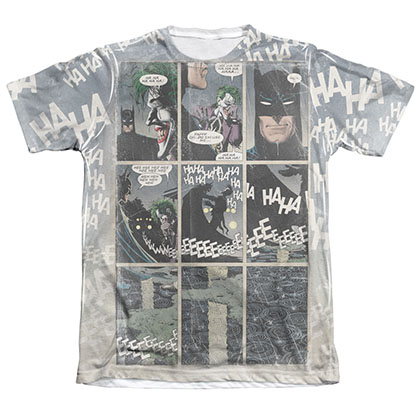 Batman Last Laugh Sublimation Tee Shirt