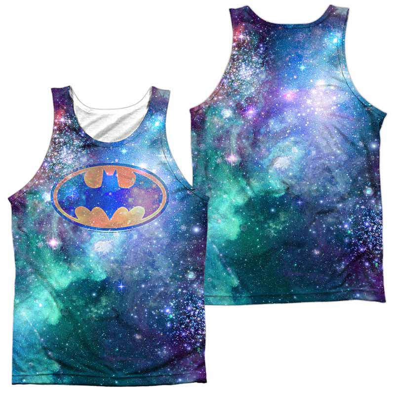 Batman Galaxy Symbol Sublimation Tank Top