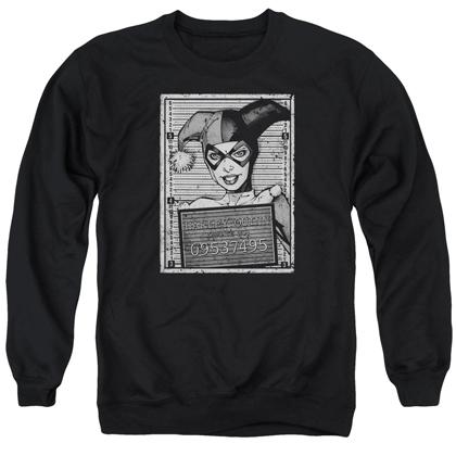 Harley Quinn Mugshot Crewneck Sweatshirt