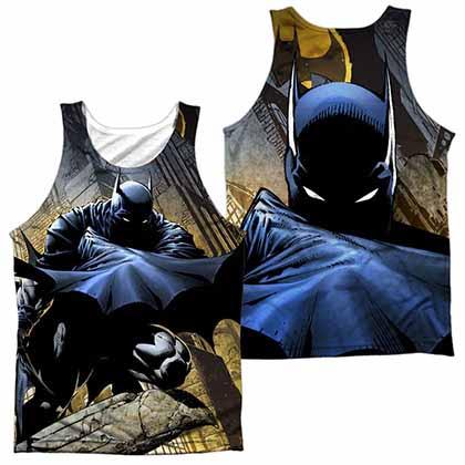 Batman In Shadow Sublimation Tank Top